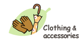 Clothing and accessories